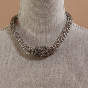 magnetic chunky chain necklace